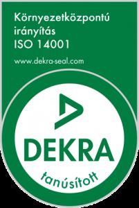 DEKRA logó ISO 14001