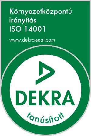 dekra logó iso14001