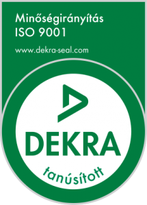 DEKRA logó ISO 9001